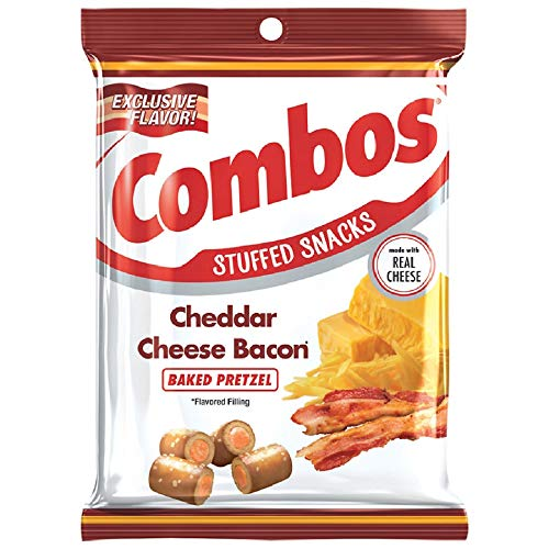 Combos Cheddar Cheese Bacon Baked Pretzel (2pack)