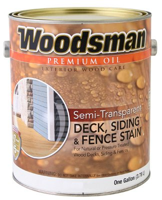 True Value STOV7-GAL Woodsman Cedar HSE Oil Oil Deck and Siding Stain, 1-Gallon