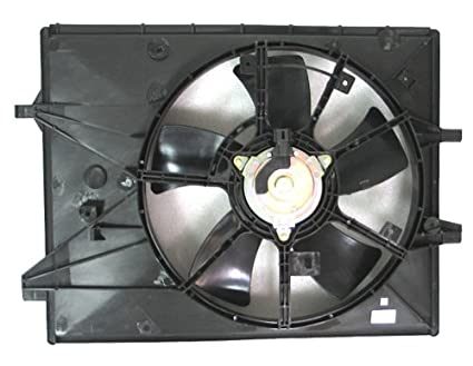 Depo 316-55035-000 Radiator/Air Conditioner Fan Assembly (MAZDA MIAT 06