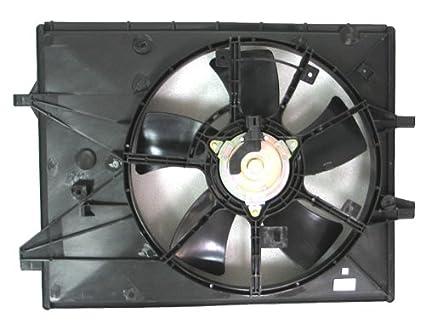 Depo 316-55035-000 Radiator/Air Conditioner Fan Assembly (MAZDA MIAT 06
