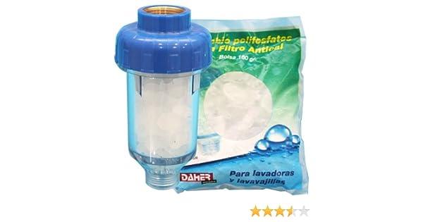 Kit filtro antical para lavadoras y lavavajillas + Recambio ...