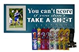 RUNNING ON THE WALL-Soccer Gifts for Athletes-Medal Display Rack-Medal Holder for Soccer Player and Coach-''SOCCER''