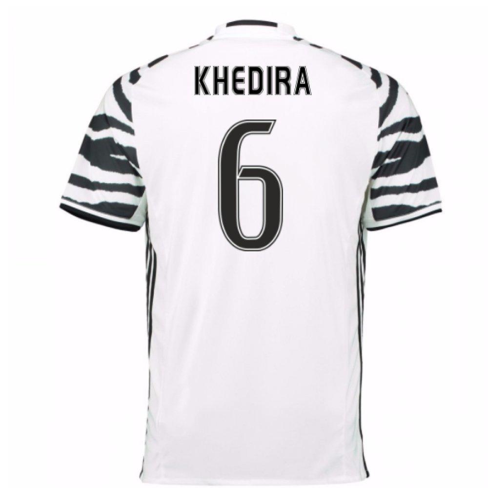 2016-17 Juventus 3rd Football Soccer T-Shirt Trikot (Sami Khedira 6) - Kids