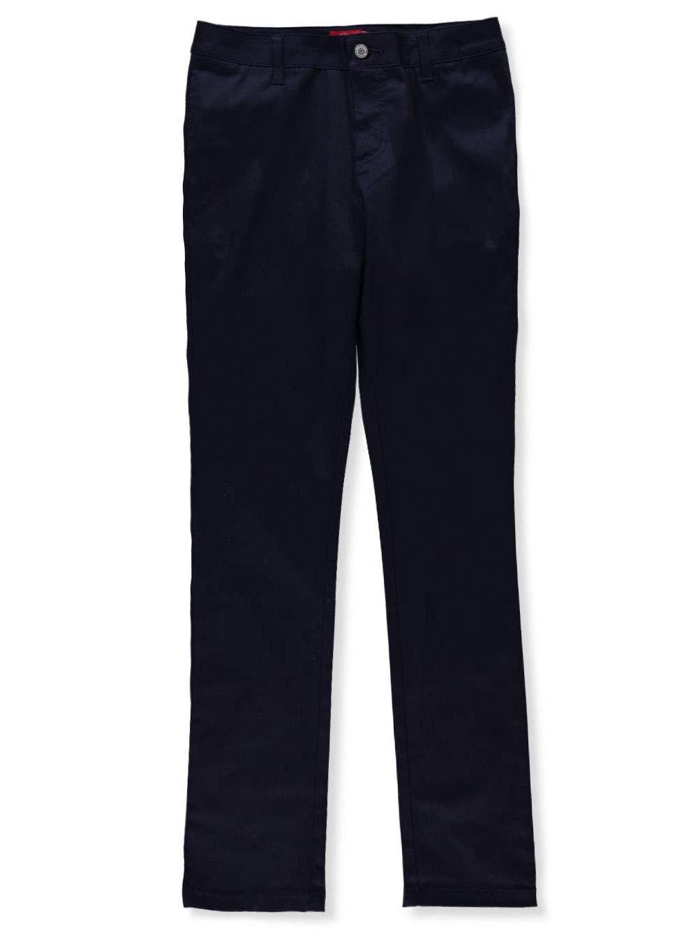 Dickies Girls' Twill Skinny Pants - Navy, Junior 1
