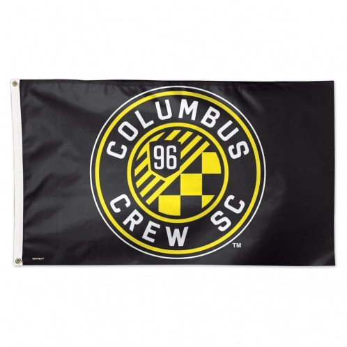 fan products of SOCCER Columbus Crew SC 06960115 Deluxe Flag, 3' x 5'