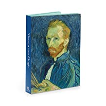 National Gallery of Art Van Gogh Notecard Wallet with Envelopes, 4.5 x 6-Inches, Pack of 12 Cards (NGANW01)