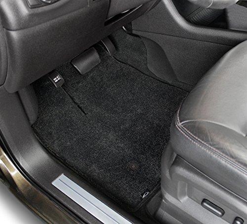 Lloyd Mats Luxe Black 2 PC Front Floor Mats for 12-16 Tesla Model -