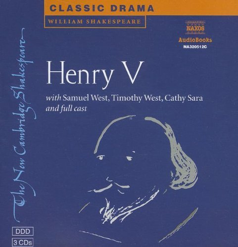 Read Online By William Shakespeare - King Henry V CD Set (New Cambridge Shakespeare Audio) (Abridged) (2001-03-06) [Audio CD] pdf