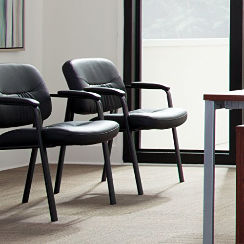 Fabulous Essentials Leather Executive Side Chair Guest Reception Pdpeps Interior Chair Design Pdpepsorg