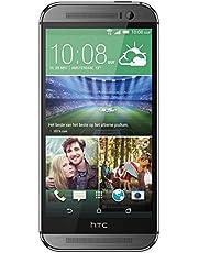 HTC One M8 smartphone (5 inch (12,7 cm) touchscreen, 16 GB geheugen, Android 4.4.2) metaalgrijs