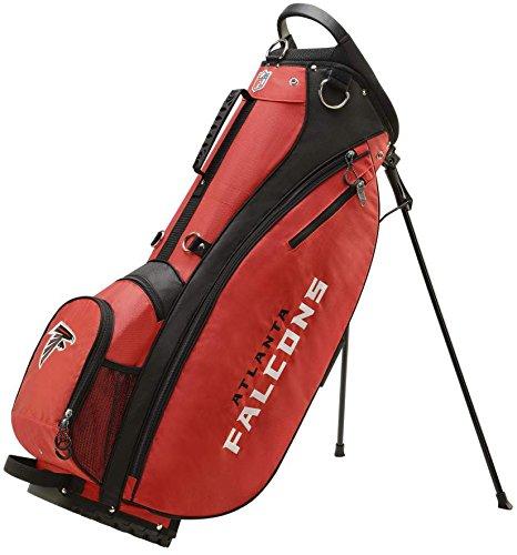 Wilson 2018 NFL Carry Golf Bag, Atlanta Falcons ()