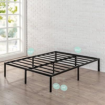 Zinus 16 Inch Metal Platform Bed Frame with Steel Slat Support / Mattress Foundation
