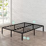 Zinus 14 Inch Classic Metal Platform Bed Frame with Steel Slat Support, Mattress Foundation, Queen Variant Image