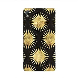 Cover It Up - Gold Black Star Xperia Z4 Hard Case