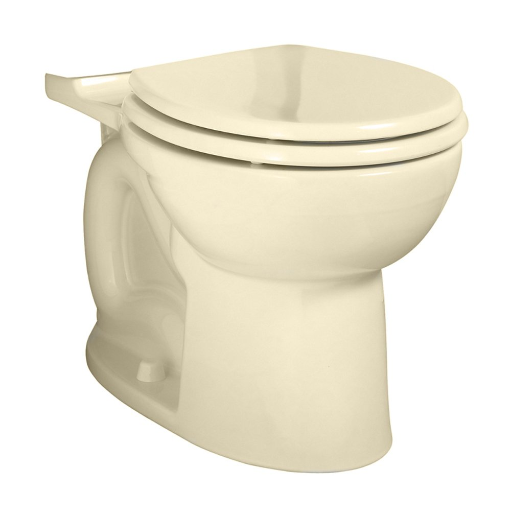 American Standard 3717A001.021 Cadet 3 FloWise Right Height Elongated Toilet Bowl Only in Bone