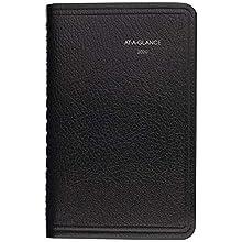 "AT-A-GLANCE 2020 Weekly Pocket Appointment Book/Planner, DayMinder, 3-1/2"" x 6"", Pocket, Black (G25000)"