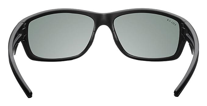 Solar Lennox Sonnenbrille Herren, Herren, Lennox, schwarz