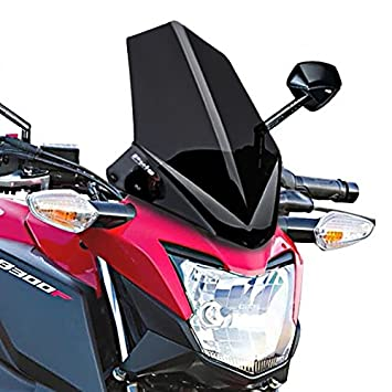 Windscreen Puig Honda CB 300 F 15 16 Dark Smoke
