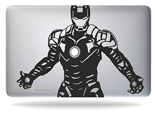 Iron Man Tony Stark - Macbook Air-pro 11 13 15 17 Stickers,d