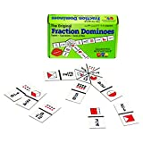 Learning Advantage 4080 The Original Fraction Dominoes Game Fraction Learning Game