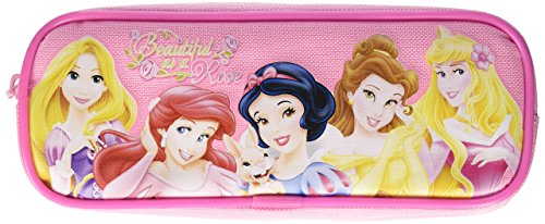 Disney Princess Pencil Case and Stationery Set - Hot Pink