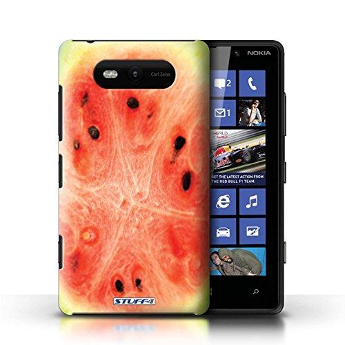 Etui / Coque pour Nokia Lumia 820 / Melon d'eau conception / Collection de Fruits