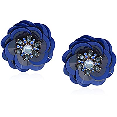 Cheap kate spade new york Snowy Nights Sequin Statement Stud Earrings free shipping