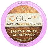 Barnie's CoffeeKitchen Santa's White Christmas Cup Up Single Serve, 10 Count