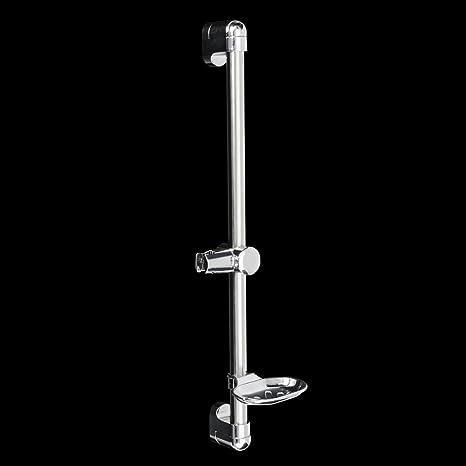 Wchaoen Soporte de ducha ajustable de acero inoxidable con ...