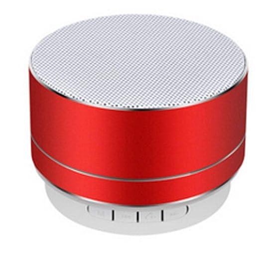LNN Altavoz Bluetooth Tarjeta de Aluminio Mini Altavoz ...