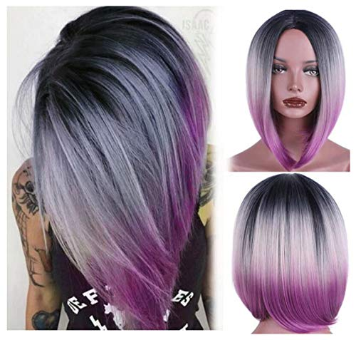 aSulis Ombre Purple Colorful Synthetic product image