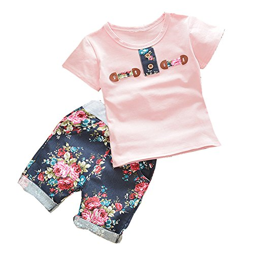 ftsucq-little-girls-boys-floral-printed-shirt-top-with-shorts-two-pieces-setspink-90
