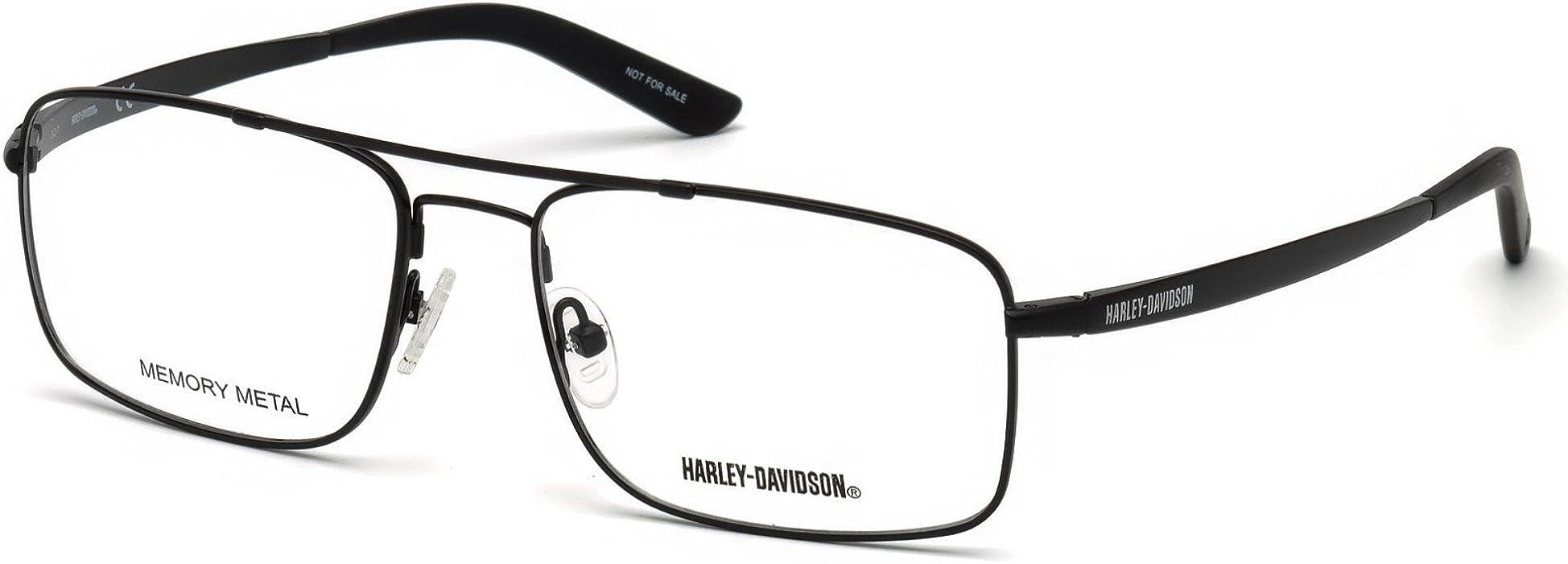 5ee759ed20d5b Eyeglasses Harley-Davidson HD 0770 002 matte black at Amazon Men s Clothing  store