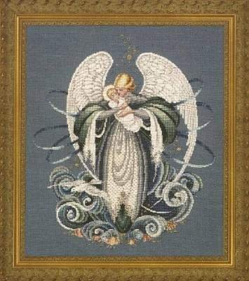 Angel of the Sea, Cross Stitch from Lavender and Lace ()