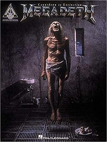 Megadeth: Countdown to Extinction - authentic guitar tab edition
