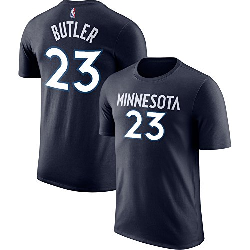 Outerstuff NBA Youth Performance Game Time Team Color Player Name Number Jersey T-Shirt (Small 8, Jimmy Butler)