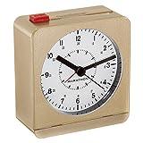 Best marathon Alarm Clocks - MARATHON CL030053GD Analog Desk Alarm Clock With Auto-Night Review