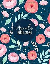 Agenda 2020-2024: Calendario Clásica Grande | Planificador Semana Vista Tamaño Extra Grande Din A4 (21 x 27,9 cm), 54 Meses | Diseño Floral