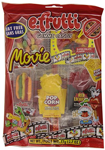 e.frutti Movie Bag, 2.7-Ounce Bags (Pack of (Gummy Popcorn)