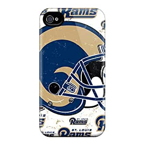 Bumper Hard Phone Cases For Iphone 6plus With Provide Private Custom High-definition St. Louis Rams Skin CristinaKlengenberg