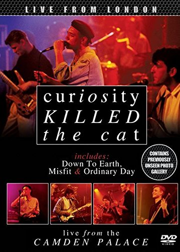 DVD : Curiosity Killed the Cat - Live From The Camden Palace (Digipack Packaging)