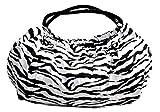 Peach Couture Versatile and Classy Zebra Print Shiny Straps Boho Shoulder Bag (Zebra) Review