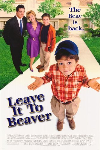 Leave It To Beaver Poster Movie 1997