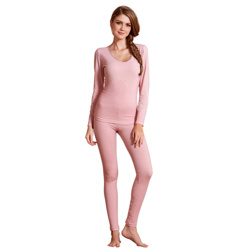 Thick cashmere ladies plus warm clothing/Thermal underwear suits/Fall clothing long Johns-A One Size by PLMWQAVDFN
