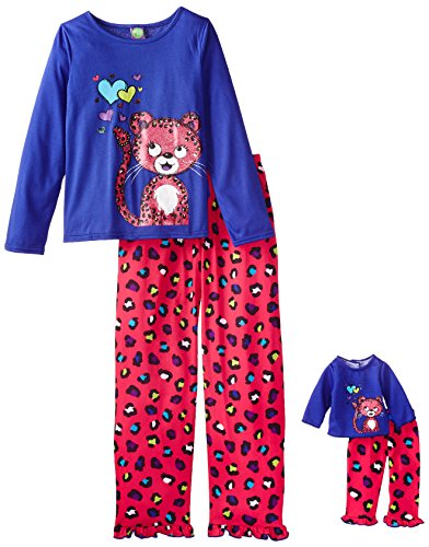 Dollie Me Girls Leopard Sleepwear