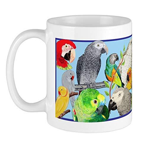 Parrot Large Mug - CafePress Parrots Mug Unique Coffee Mug, Coffee Cup