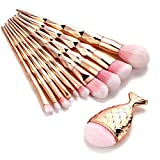 NewKelly 11PCS Make Up Foundation Eyebrow Eyeliner Blush Cosmetic...