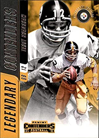 1f79e1710 2018 Panini Contenders Legendary Contenders  LC-TB Terry Bradshaw  Pittsburgh Steelers Football Card