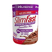 SlimFast Advanced Nutrition High Protein Smoothie Powder, Creamy Chocolate, 11.01 Ounce