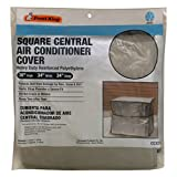 king central - Frost King CC32XH 34x34x30 Square Central Air Conditioner Cover (Heavy Duty Reinforced Polyethylene)